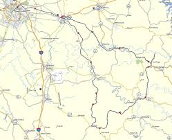 Red River Gorge Map Lexington U2013 Sky Bridge Tour Don Moe U0027s Travel Website