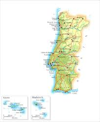 Azores Map Portugal Golden Visa Continent Azores Madeira Investments