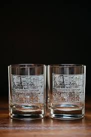 buy boots glasses 101 best town etched map glasses images on