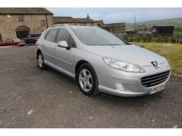 peugeot 407 peugeot 407 2 0 sw sr hdi 5dr manual for sale in rossendale