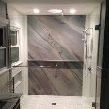 Cultured Granite Shower Glass Shower