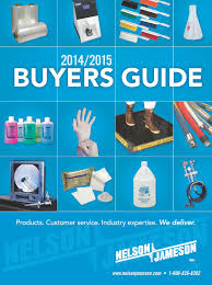 buyers guide nelson jameson release 2014 2015 edition of buyers guide the