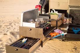 overland jeep setup slide out u0027truck kitchen u0027 for overland vehicles