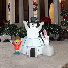 Snowman Lawn Decorations Amazon Com Christmas Decoration Lawn Yard Inflatable Airblown