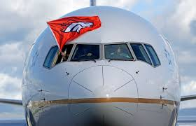 Carolina Panthers Flags Broncos Panthers Arrive In Bay Area For Super Bowl Wtop