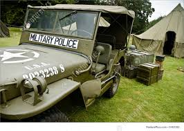ww2 jeep picture of ww ii military police jeep