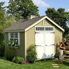 Contemporary Garden Sheds Little Cottage 8 X 10 Ft Williamsburg Colonial Panelized Garden