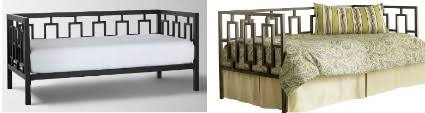 West Elm Day Bed Knockout Knockoffs West Elm Modern Daybed Guest Space The Krazy