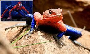 Seeking Lizard Cast Lizard Looks Uncannily Like Comic Book