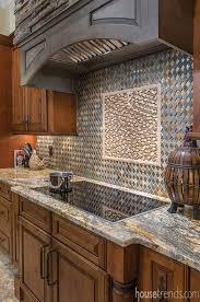 Stone Backsplash Design Feel The Kitchen Backsplash Tile Photos