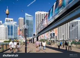 monorail darling harbour sydney wallpapers sydney street view monorail sydney tower stock photo 13301665