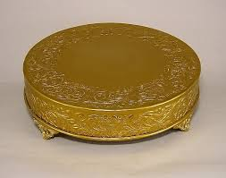 cake plateau antique gold cake plateau 37717 event and wedding decorations