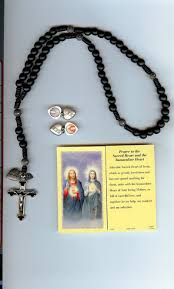 sacred heart rosary 4 sacred heart of jesus and the immaculate heart of rosary is