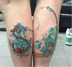 100 anchor tattoo for couples 16 couples tattoos that are