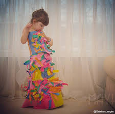 four year old designs paper dresses u2013 style not trend