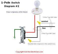 How To Wire A Light Fixture Diagram How Wire Light Switch Electrical Wiring Diagram Lighting Photos