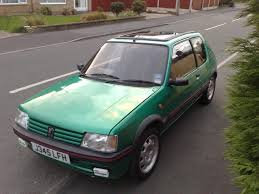 peugeot green 205 gti 1 9 laser green t u0026t 1395 passionford ford focus