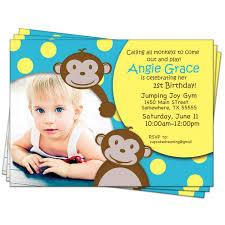 free first birthday invitations