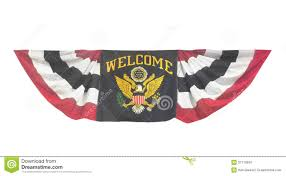 Welcome Flag Welcome Banner Flag Isolated Stock Photo Image 31715810