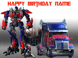 optimus prime cake topper transformers optimus prime edible cake topper trish gayle