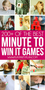 200 hilarious minute to win it everyone will absolutely