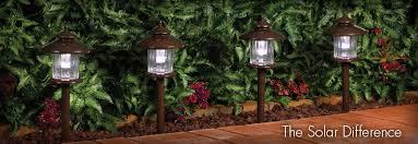 Led Solar Landscape Lights Solar Garden Lighting