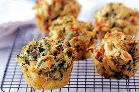 spinach u0026 feta muffins