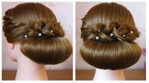 chignon mariage facile a faire coiffure facile à faire soi même pour soirée mariage pour les