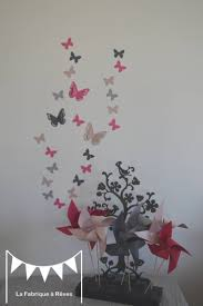 decoration chambre fille papillon stickers dacoration chambre fille baba inspirations avec