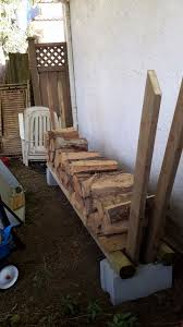 Free Firewood Storage Rack Plans by Best 25 Outdoor Firewood Rack Ideas On Pinterest Wood Rack