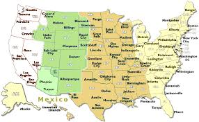 map of usa time zones usa time zone map also usa with zones creatop me