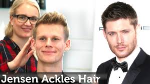 jensen ackles hairstyle short textured hair for men