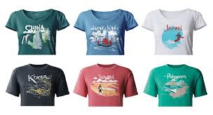 travel shirts images How a travel t shirt selfie is good advertising for yvr and its jpg