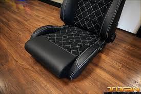 Exotic Car Interior Titan Motorsports Blog Custom Upholstered Racing Seats And Door