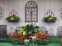 Wrought Iron Wall Planters by Iron Garden Decor U2013 Home Design And Decorating