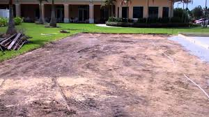 bocce ball court wood perimeter installation youtube