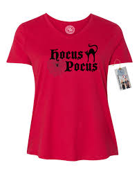 hocus pocus halloween shirt plus size womens v neck t shirt top ebay