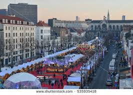 brussels market stock images royalty free images