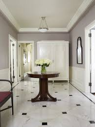 Entry Room Design Flooring Fascinating White Marble Foyer Flooring Design Ideas