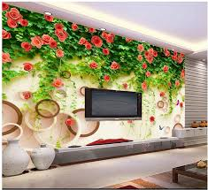 compare prices on rose vine wallpaper online shopping buy low custom 3d photo wallpaper 3d wall murals wallpaper modern roses tracery wall vines setting wall decoration