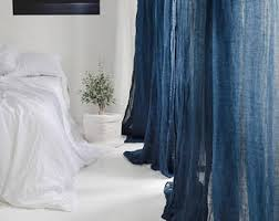 Bed Linen And Curtains - pure linen curtains etsy