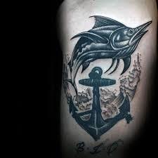 marlin tattoo kuta anchor amazing marlin tattoo golfian com