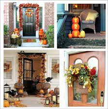 Outdoor Fall Decorations by Thanksgiving Outdoor Decorating Ideas Home Design Ideas