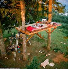 building your own tree house how to build a house washington treehouse has skatepark and wood fired tub daily mail