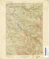 Eastern Oregon Map by