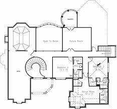 second floor plans 4277 4 bedrooms and 4 baths the house designers