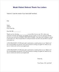 a letter to say thank you medical thank you letter 10 free sample