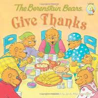 the berenstain bears give thanks is on this list of thanksgiving