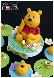 winnie the pooh cake topper winnie the pooh cake toppers best images on sugar and cupcake by