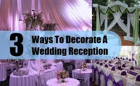 decorations for wedding reception wedding decorations wedding